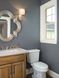 New Bathroom Color Aly Similar To Storm Cloud 6249 By Sherwin Williams And Steel Wool Benjamin Moore