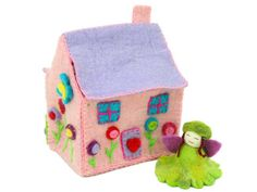 Felted Tiny Dream House – Global Groove
