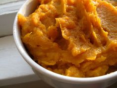 New Nostalgia: Mashed Sweet Potatoes...really easy and not a bad way to make sweet potatoes