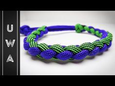 How to make a Four Strand Round Paracord Bracelet [MAD MAX STYLE] [NO BUCKLE NEEDED] - YouTube