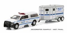 NYPD - 2014 Ram 1500 with Horse Trailer (1/64)