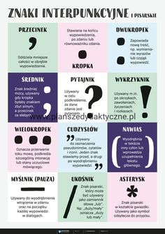 Ways Of Learning, Kids Learning, Learn Polish, Polish Words, Polish Language, Montessori Classroom, School Motivation, School Notes, Study Notes