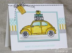 Beautiful Ride  - new stamp set from the Occasion Catalog 2016 www.carriestamps.com #stampinup
