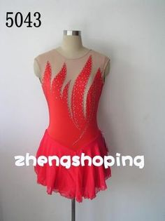 Attractive and Wonderful Figure Ice Skating dress on eBay!