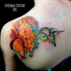 Bright and colourful a hummingbird tattoo is a popular modern design and always makes for a gentle looking piece of body art! Description from blog.tattoodo.com. I searched for this on bing.com/images