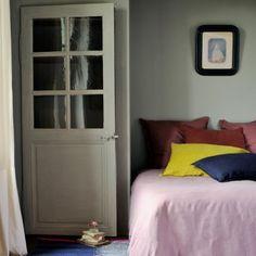 un tapis aux nuances de bleu pour une ambiance apaisante