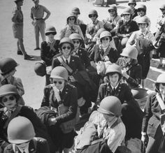 US Army nurses arrive in the Middle East.