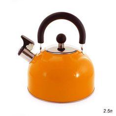 Чайник 2,5 л орнажевый / kt-105o /уп 12/