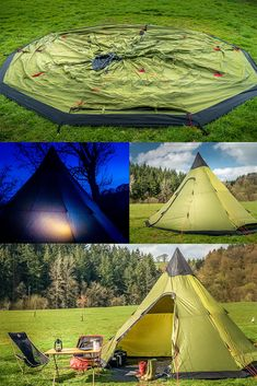 This is a great tipi tent for family camping! It's called the Robens Field Station, and it's really quick and easy to pitch. Just one tent pole! Camping Hacks With Kids, Diy Camping, Camping And Hiking, Family Camping, Tent Camping, Campsite, Camping Ideas, Tent Poles, Tents