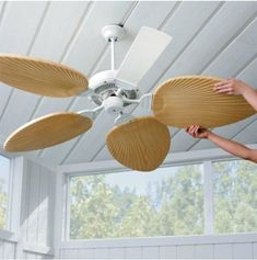 9 DIY Ideas for Ceiling Fans | Apartment Therapy