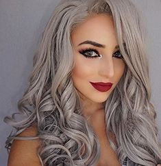 Uniwigs Star Synthetic Lace Front Wig Ombre Color Long Lo... https://www.amazon.com/dp/B013WMQJK2/ref=cm_sw_r_pi_dp_x_39knyb15615NG