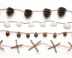 :: Natural garlands ::