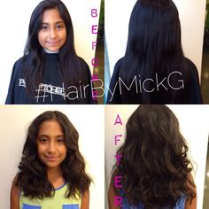 #HairByMickG #BeforeAfter