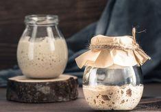 Rezept Sauerteig - Deutsche Innungsbäcker Sourdough Recipes, Sourdough Bread, Sourdough Pancakes, Yeast Bread, Yeast Starter, Pan Relleno, How To Make Potatoes, Types Of Flour, Rye Flour