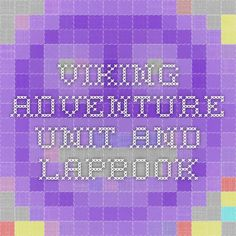 Viking Adventure Unit and Lapbook