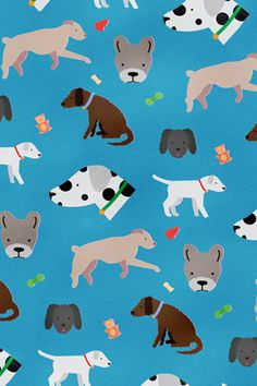 iphone / ipad wallpaper by Liz Meyer at Poolga Dog Wallpaper, Pattern Wallpaper, Socializing Dogs, Dog Phone, Phone Case, Dog Illustration, Dog Pattern, Pet Gifts, Dog Art
