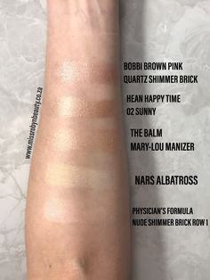 Comparing high-end and affordable highlighters. What Makeup To Buy, Love Makeup, Makeup Brands, Best Makeup Products, Best Lighting For Makeup, Holographic Lips, Lip Palette, Physicians Formula, Highlighters
