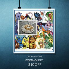 We are excited about the new app Pokemon Go, for one week only to celebrate we will give you  $10.00 OFF your purchase. Coupon Code: POKEMONGO.  Min Purchase: $40.00.  Expiry: 30-Jul-2016.  Click here to avail coupon: https://www.etsy.com/shop/TheSilverWing?utm_source=Pinterest&utm_medium=Orangetwig_Marketing&utm_campaign=Coupon%20Code   #sale #coupon #instasale #discount #savemoney #deal #handmade #etsyshop #handmadejewelry #etsyseller #handmadewithlove #sterlingsilver #etsystore…