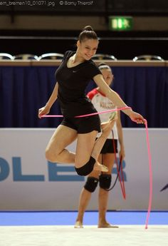 Rhythmic Gymnastics ECh – Training Photos
