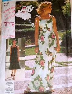 Vintage 1970's Simplicity 7519 Sewing Pattern, Jiffy Dress In Two Lengths, Size Small 8 - 10, Bust 31 1/2 - 32 1/2