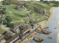 Roman Architecture, Ancient Architecture, London History, British History, Ancient Rome, Ancient History, Architecture Romaine, Tower Of London, London Bridge