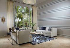 Palm Beach living room by Krista Watterworth Design Studio.  Photo by Daniel Newcomb