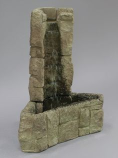 WFSStanding water walls, wall fountains, and custom built water feature fountains interior