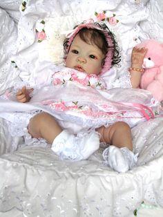 """Little Petals Nursery"" Reborn Baby Doll ""Shyann"" by Aleina Peterson ""Clarissa"" #ShyannbyAleinaPeterson #REBORNBabyDoll"