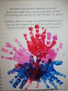 teaching children the importance of appreciating different races activity/craft MLK Activity