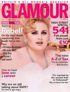 Glamour Covergirl Rebel Wilson praised by celebs Glamour Uk, Glamour Magazine, Miranda Hart, Rebel Wilson, Jessie J, Mtv Movie Awards, Pitch Perfect, Perfect Movie, Curvy Girl Fashion