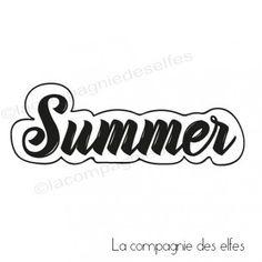 Summer rubber stamp https://www.la-compagnie-des-elfes.fr/