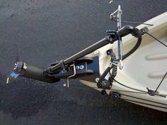Kayak Fishing Hacks Yak Trolling Motor Set-ups Crappie Fishing Tips, Pike Fishing, Fishing Boats, Bass Fishing, Canoe Boat, Canoe And Kayak, Bass Boat, Canoe Trip, Kayaking Gear