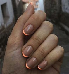 Neon Tips - Colorful Summer Nail Designs - Photos