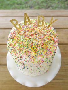 A Sprinkle-tastic Gender Reveal Cake! | ABD