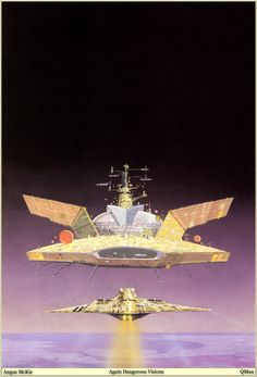 Astrona: Angus McKie Space and Sci-Fi Art   Space and Astronomical Art Journal