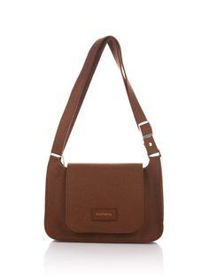 Brown unisex messenger bag Net 2. Original beautiful от FELTTERRA