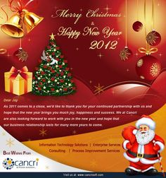 Cancri Web | Happy Christmas & Happy New Year
