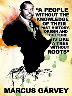 I love Marcus Garvey