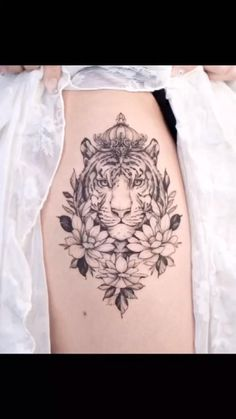 flowers tattoo on your hand,arm,back and so on Girl Flower Tattoos, Floral Thigh Tattoos, Girl Back Tattoos, Beautiful Flower Tattoos, Tribal Sleeve Tattoos, Baby Tattoos, Sleeve Tattoos For Women, Body Art Tattoos, Floral Tattoo Design