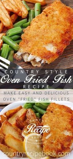 Make delicious oven fried fish - Just 10 minutes to make (Breaded Tilapia Recipes) Seafood Dishes, Fish And Seafood, Seafood Recipes, Cooking Recipes, Oven Recipes, Tilapia Recipes, Healthy Recipes, Cooking Gadgets, Gourmet