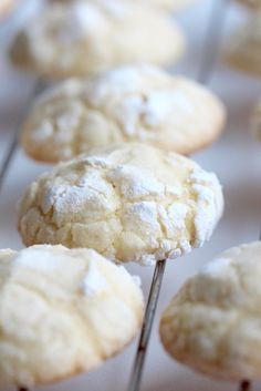 Popraskané citrónové sušenky neboli Lemon Crinkle Cookies