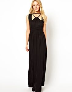Solace london hurley banded maxi dress