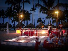 Majestic Colonial Beach Reception | Destination Weddings