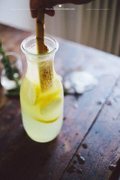 Tart Honey Lemonade | What Should I Eat For Breakfast Today?