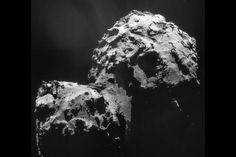 L'agence spatiale européenne a fait parvenir de nouvelles images capturées par la sonde Rosetta sur la comète Tchouri dont la distance par rapport à notre planète bleue avoisine les 510 millions de kilomètres... Une forme très particulière Tchouri a révélé...