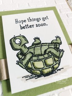 A funny get well card will send some extra love! Make this adorable card using Stampin Blends or alcohol makers with these fun stamps from Stampin Up and help someone feel better right away! Funny Get Well Cards, Poinsettia Cards, Alcohol Markers, Get Well Soon, Halloween Cards, A Funny, Greeting Cards Handmade, Feel Better, Your Cards