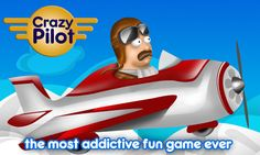 The Game is to rescue the airplane from the Crazy Pilot. Really fun and addictive. Very simple too. Help the crazy pilot to fly the plane safely by avoiding collision with balloons and other obstacles. It's very simple and easy to play, when you tap the screen, the aeroplane will move upward and when you release your finger, the plane will come down. https://play.google.com/store/apps/details?id=com.summer.CrazyPilot #Crazypilot #Android #Rescue