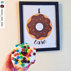 "Here's @every_last_bite enjoying her ""I Donut Care"" Printable with what is possibly the yummiest looking donut I have ever seen!  •   #alittleleafy #Etsy #etsyshop #etsygiveaway #etsygifts #etsyprint #etsylove #etsyseller #ourbestfinds #idonutcare #idontcare #donut #donuts #foodie #foodpun #foodpuns #pun #puns #punny #ilovedonuts #donutlove #donu..."
