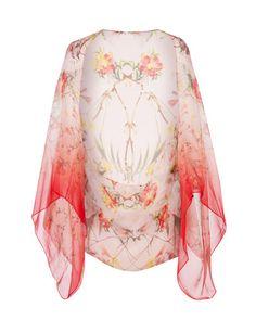 Botanical bloom cape scarf - Pale Pink | Scarves | Ted Baker UK