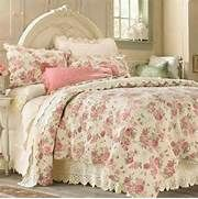 Another French look | French shabby chic bedding | Pinterest